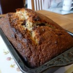 Chocolate and Banana Loaf Cake