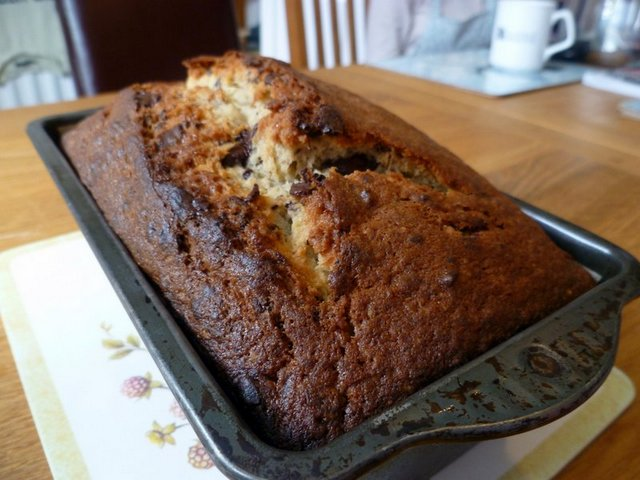 Banana and Chocolate Bread