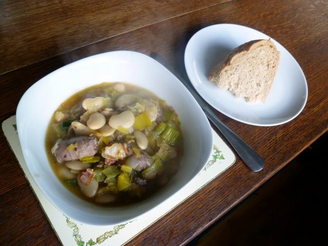 Butterbean Sausage Stew