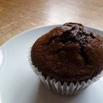 Charitable Chocolate Cheesecake Muffins