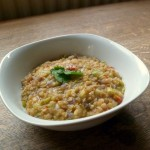 Leek and Chilli Lentils