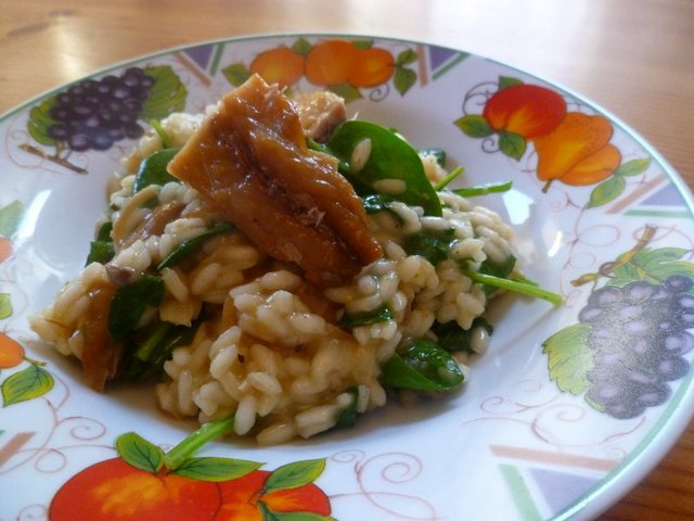 Mackerel Risotto