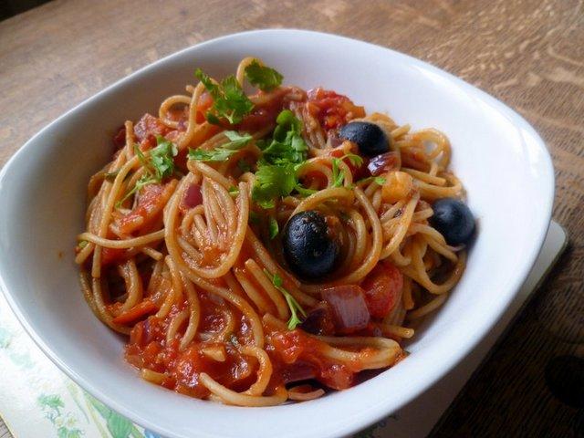 Olive Pasta