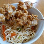 Pork Satay with Cold Noodle Salad