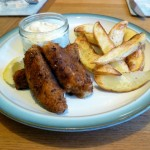 Fish Fingers, Chips and Tartare Sauce
