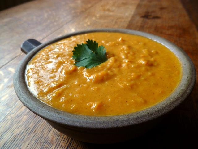 Goan Spiced Sweet Potato Soup
