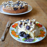 Blueberry and Lemon Crumble Cake