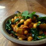 Chickpea and Spinach Curry – My Second Guest Post