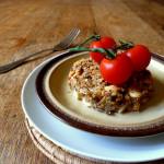 Mushroom, Cashew and Ginger Bake
