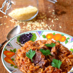 Greek Lamb with Orzo