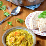 Sweet Potato and Almond Curry