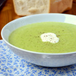 Broccoli, Cauliflower and Leek Soup