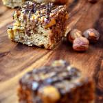 Chocolate and Hazelnut Flapjacks