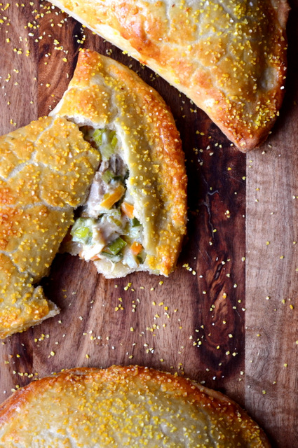Chicken and Leek Pasty Recipe