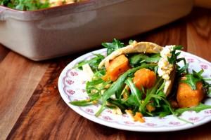 Sweet Potato and Chicken Salad