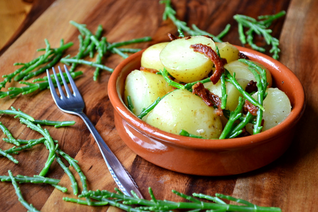 Potato and Samphire Salad
