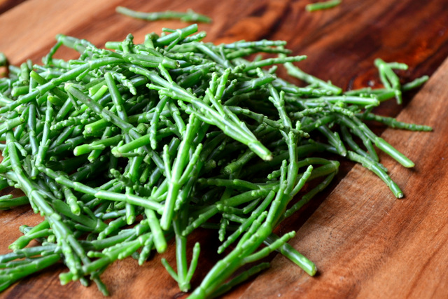 Potato and Samphire Salad