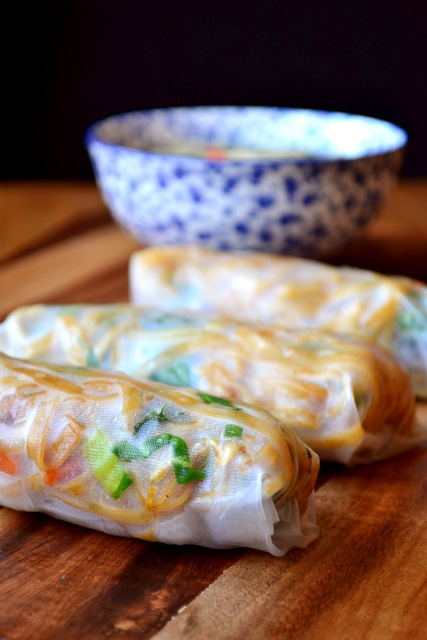 Vegetable Spring Rolls - frugalfeeding | Low Budget Family Recipes, UK ...