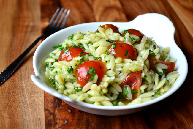 Orzo and Fresh Herb Salad