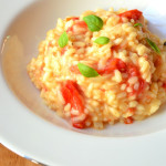 Tomato and Basil Risotto