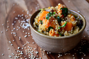 Roasted Vegetable Quinoa