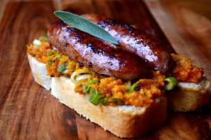 Butternut Squash and Sage Sausage Sandwich