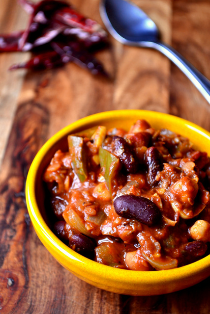 Vegetarian Chilli con Carne Recipe