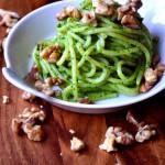 Spinach, Feta and Walnut Pesto