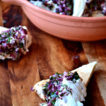 Labneh with Sumac, Hazelnuts and Mint