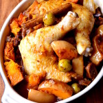 Chicken and Butternut Squash Tagine