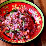 Tomato and Red Onion Salsa