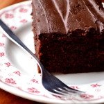 Apricot Chocolate Fudge Cake