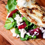 Beetroot and Feta Pancakes