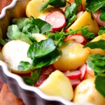 Radish, Watercress and Potato Salad