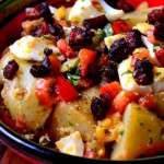 Potato and Chorizo Salad