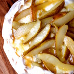 Caramelised Pear Pavlova
