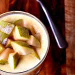 Pear and Custard Pudding