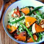 Green Beans and Butternut Squash Salad