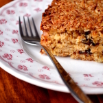 Coconut and Prune Flapjacks