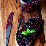 Blackberry and Basil Jam