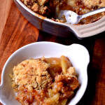 Leftover Mincemeat Apple Crumble