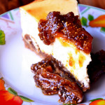 Fig and Orange Cheesecake