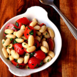 Chive, Tomato and Cannellini Bean Salad
