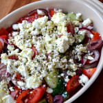 Traditional Greek Salad (Horiatiki)