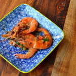 Garlic Prawns with Chilli